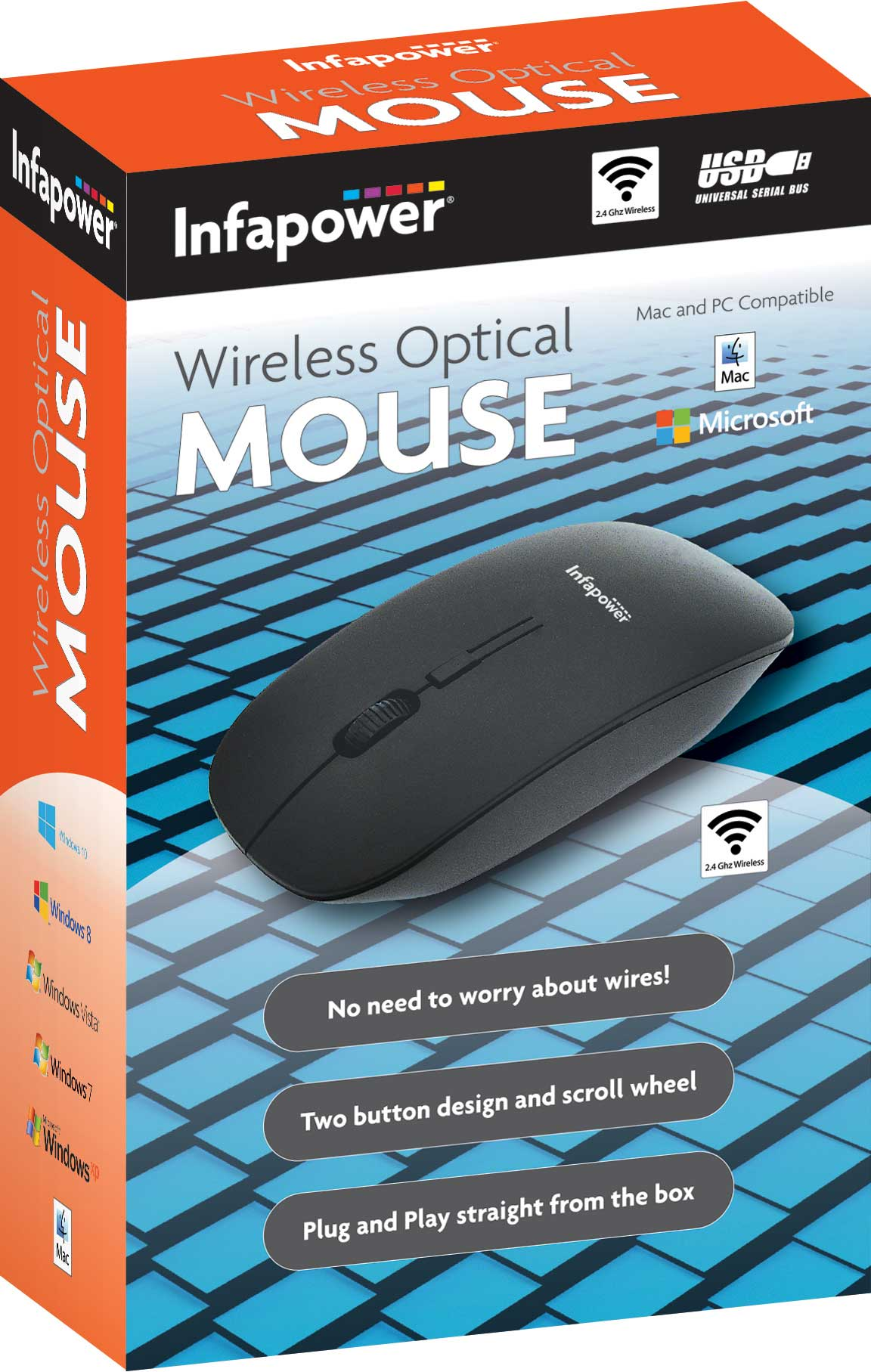 X205: Wireless Bluetooth Mouse