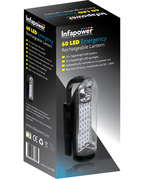 F019 60 LED Rechargeable Lantern